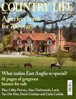 COUNTRY LIFE APRIL 2012 ARTICLE