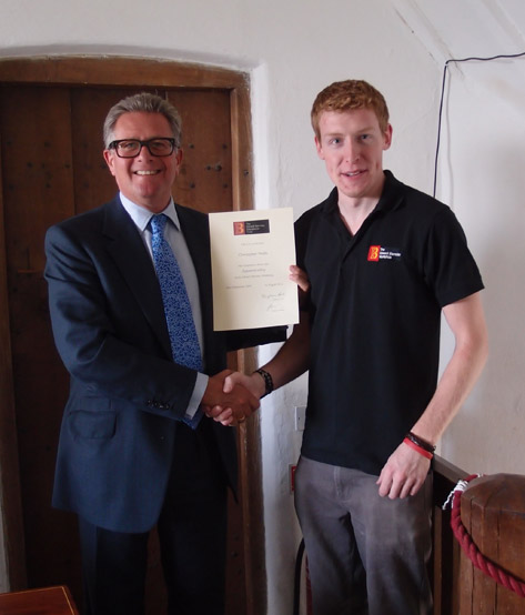 Completing apprenticeship