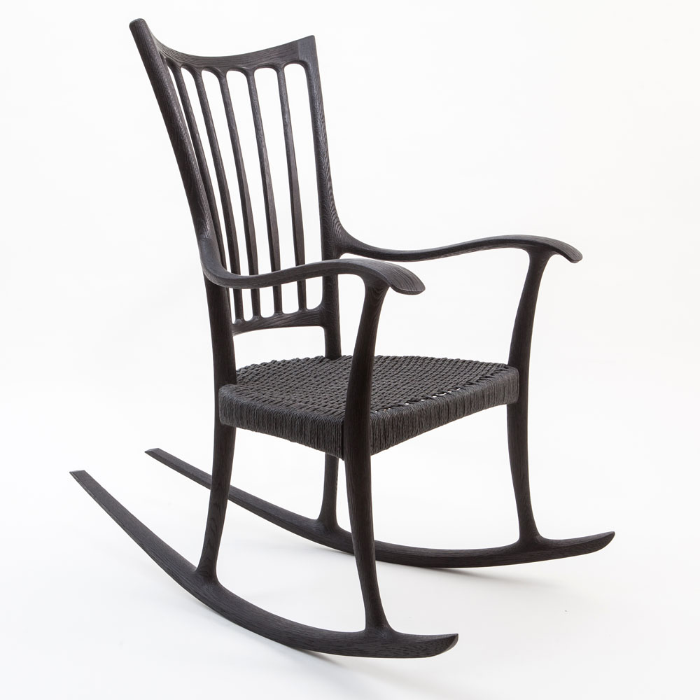 'Repose Mk I' Rocking Chair - Edward Barnsley Workshop