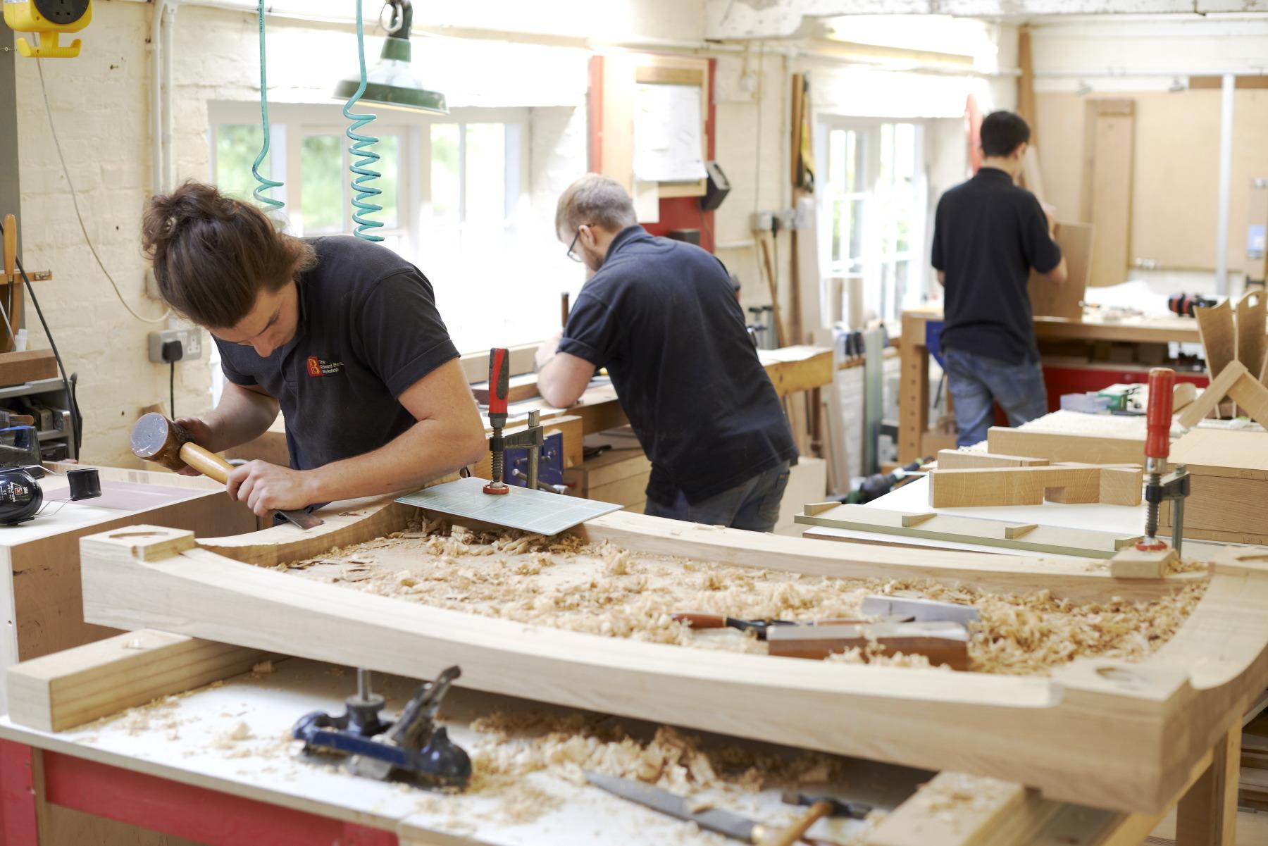 craft skills - edward barnsley workshop