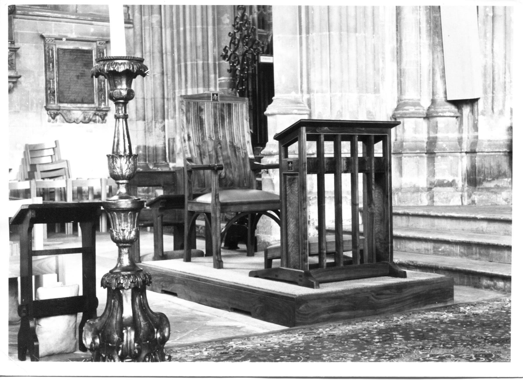 Canterbury Cathedral Edward Barnsley Workshop