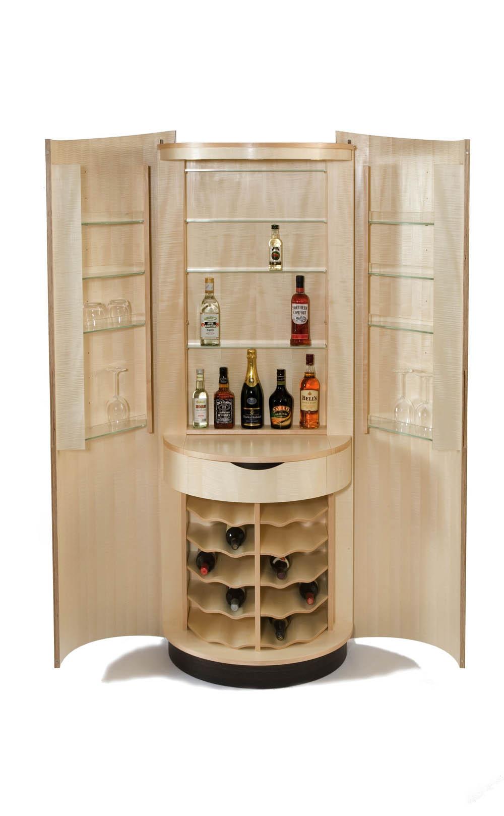 Clinker Drinks Cabinet - Edward Barnsley Workshop