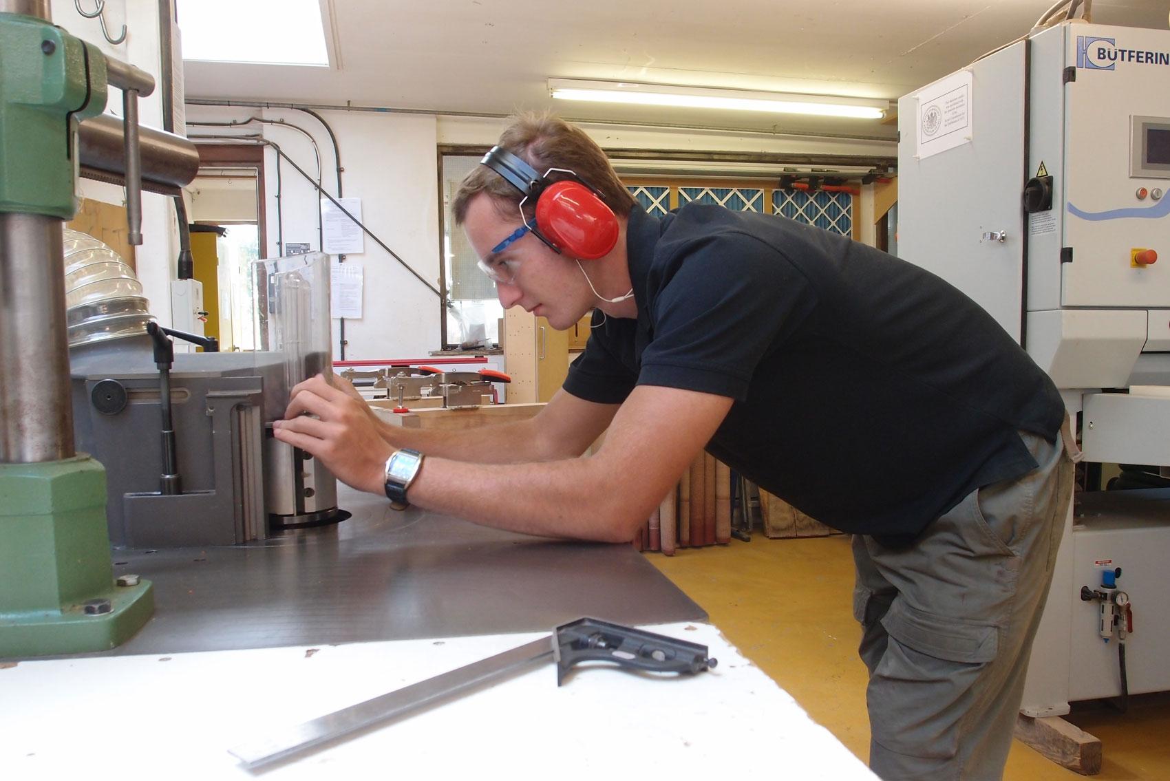 Furniture Making Apprenticeship with Edward Barnsley Workshop